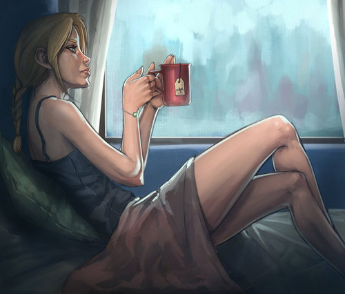 tea rainy days